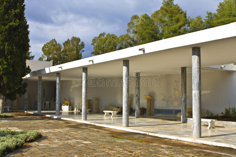 Download Archaeological Museum Of Ancient Olympia Stock Photo - Image: 15395920