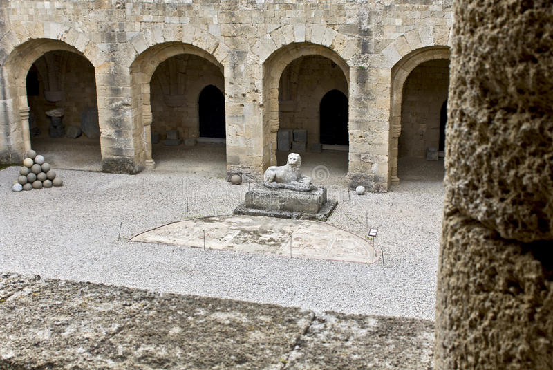 Download Archaeological Museum Of Rhodes Stock Image - Image: 9434331