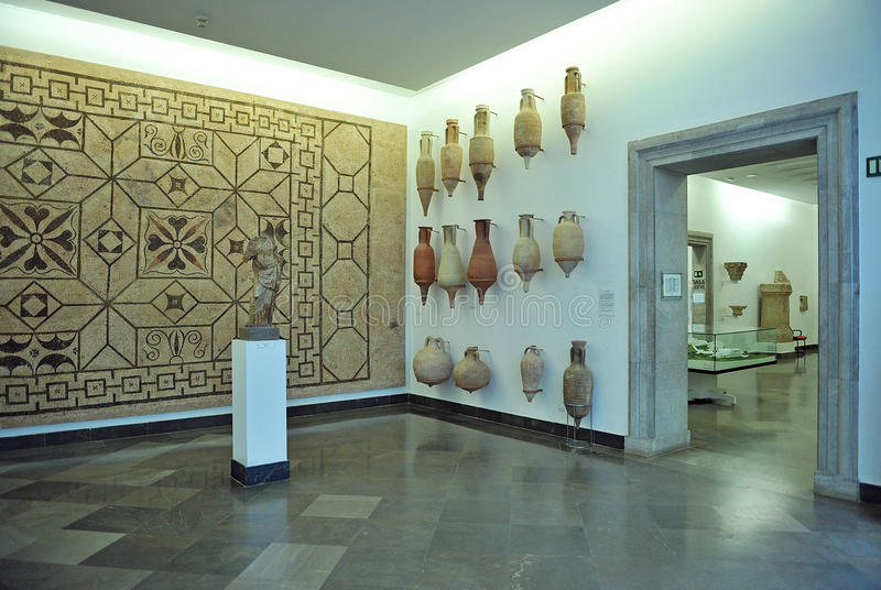 Archaeological Museum of Seville, Andalusia, Spain royalty free stock images