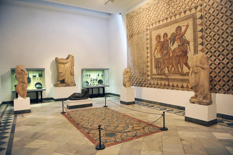 Archaeological Museum of Seville, Andalusia, Spain royalty free stock image