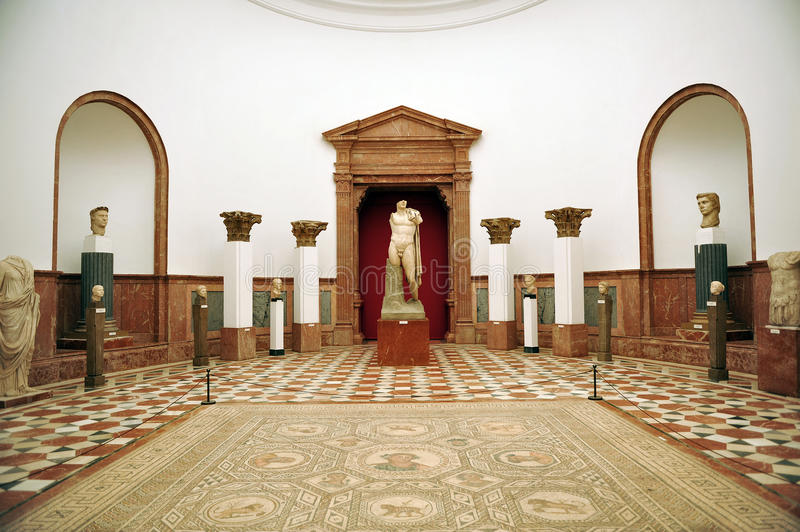 Archaeological Museum of Seville, Andalusia, Spain stock photography