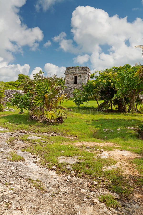 Download Archaeological Ruins Of Tulum Stock Image - Image: 21435499