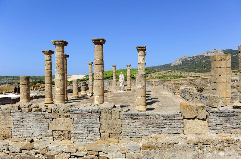 Archaeological site of Baelo Claudia, Tarifa, province of Cádiz, Spain stock images