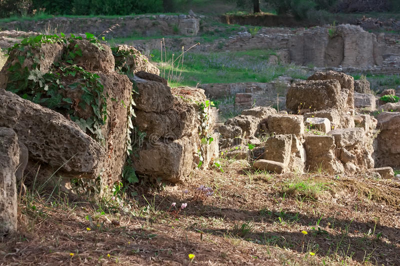 Download Archaeological Site Of Olympia, Greece. Stock Photo - Image: 22605960