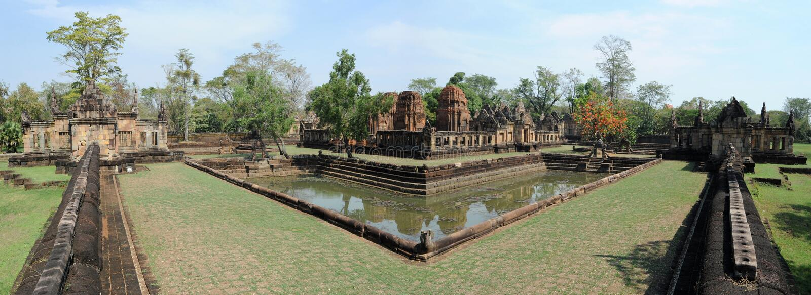 Download The Archaeological Site Of Prasat Muang Tam Stock Image - Image: 29869519