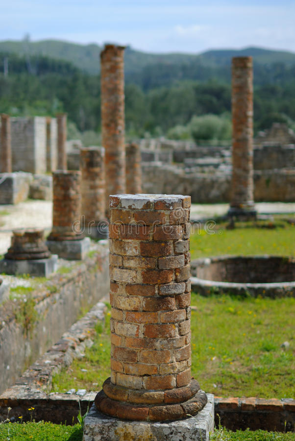 Archaeology Pillars Stock Photos