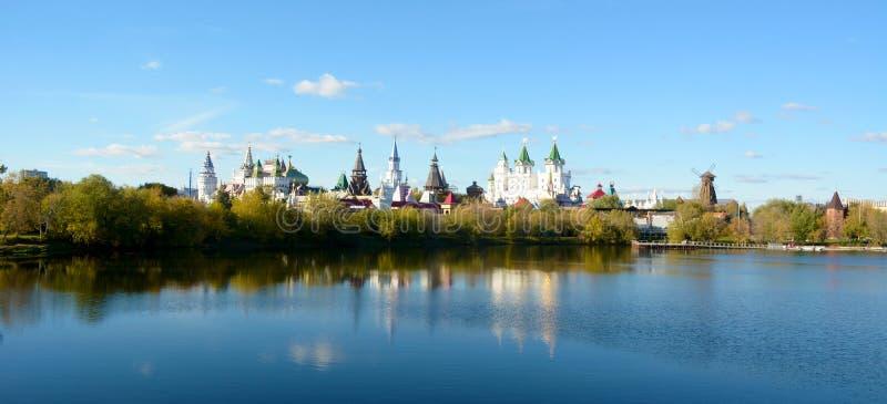 Archaizearchitectuur in Moskou stock foto's