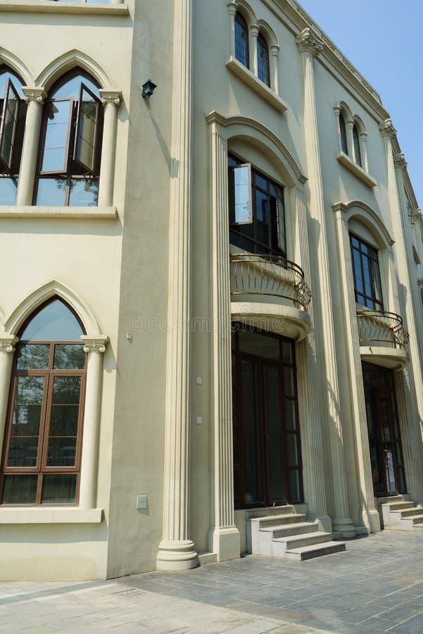 Archaizujący budynek, Chengdu obrazy stock