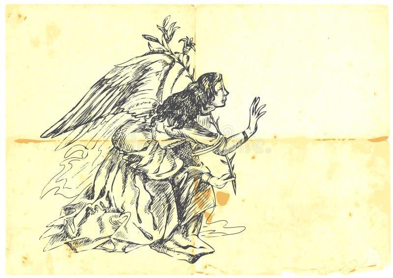 Archange Gabriel illustration stock