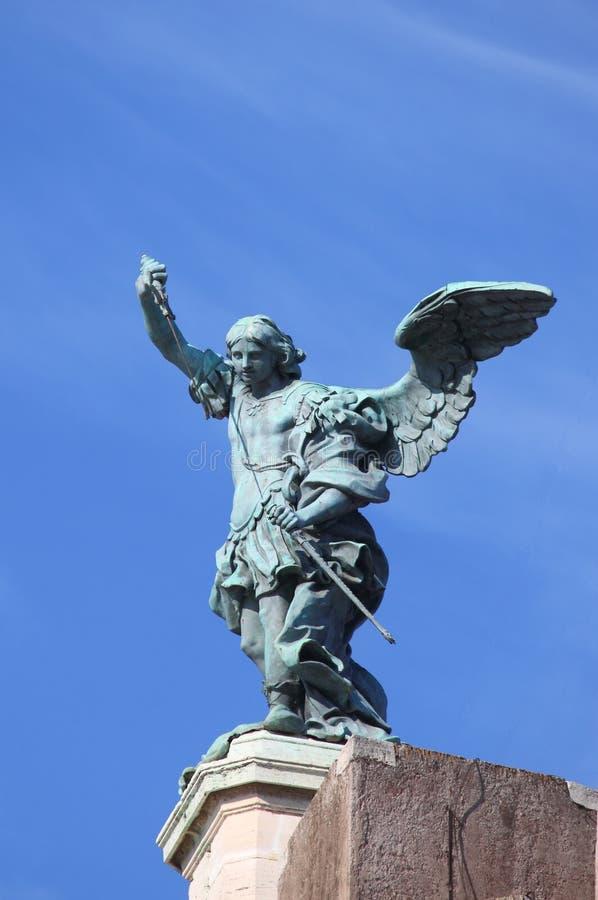 Archangel Майкл святой стоковое изображение