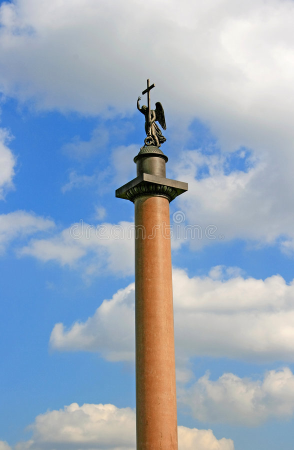 Download Archangel stock image. Image of square, monument, alexander - 2312561