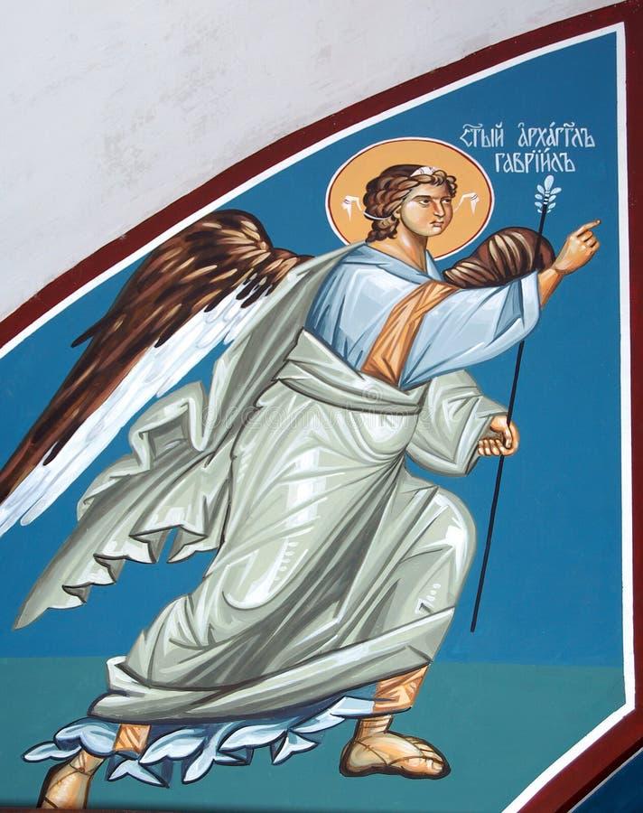 Archangel Gabriel. Picture of a Angel Gabriel stock photos