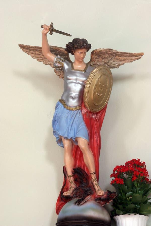 Archangel Michael imagem de stock