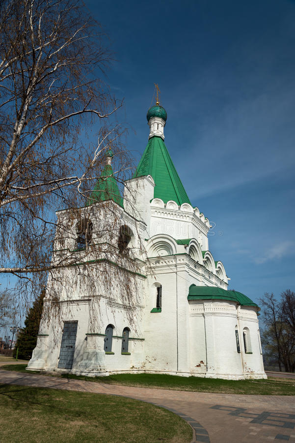 Archangel Michael Cathedral. In the territory of the Nizhny Novgorod Kremlin. Russia stock photos