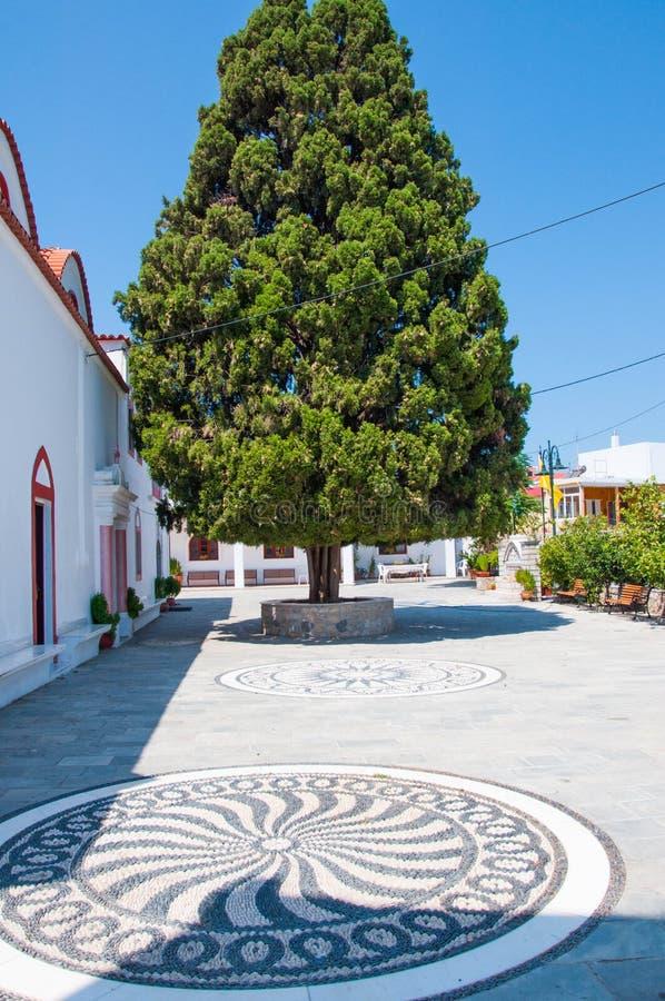 Archangelos, église de la Grèce d'Arkhangel Michael, Grèce photo libre de droits