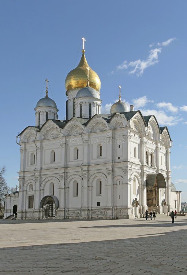 Archanioł katedra, Moskwa Kremlin Rosja obraz royalty free