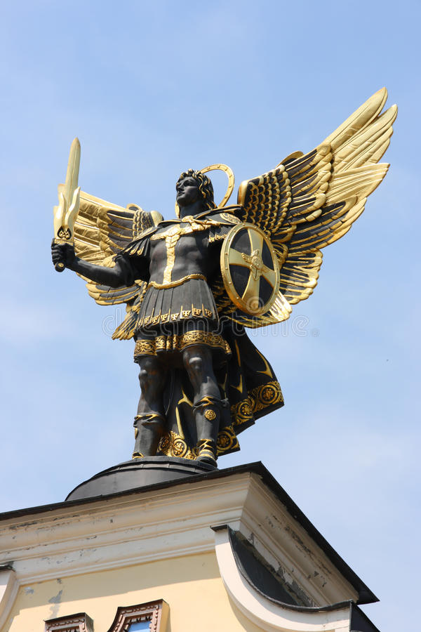 archanioł Michael obraz royalty free