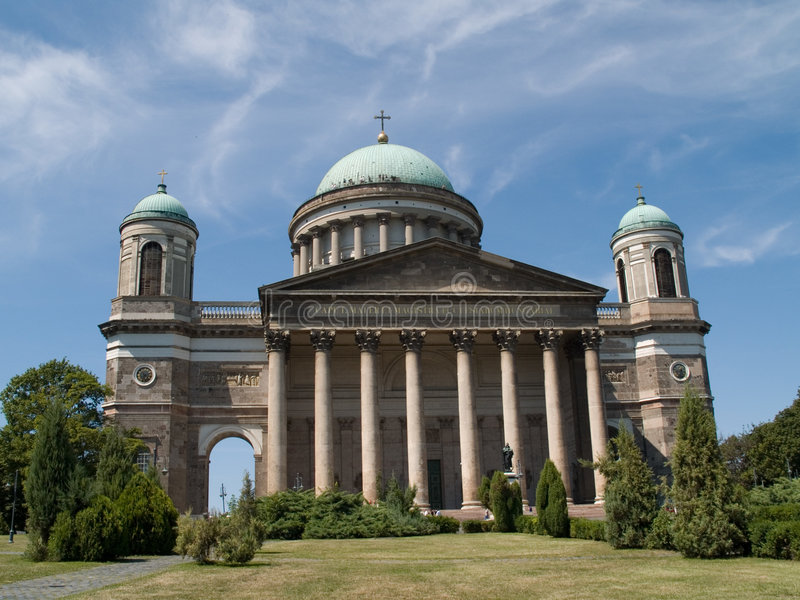 Archbishop basilica Estergom stock images