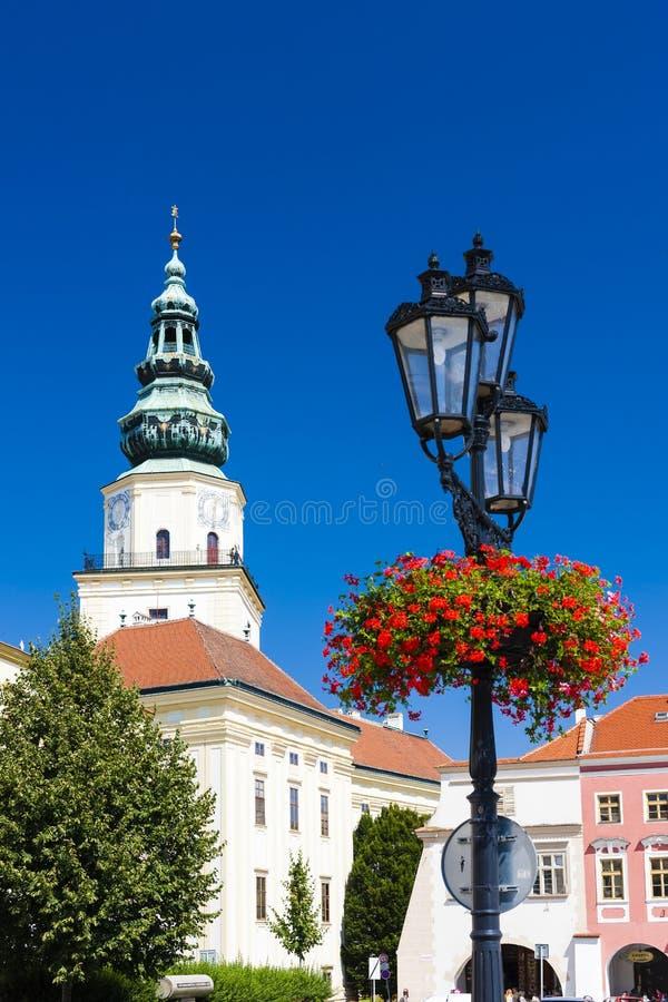 Archbishop& x27; & x27; s pałac, Kromeriz, republika czech zdjęcie royalty free