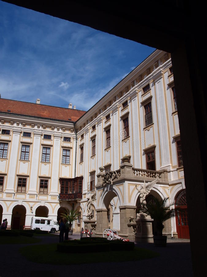 Download Archbishops Palace, Kromeriz, Czech Republic Editorial Stock Photo - Image: 26414403