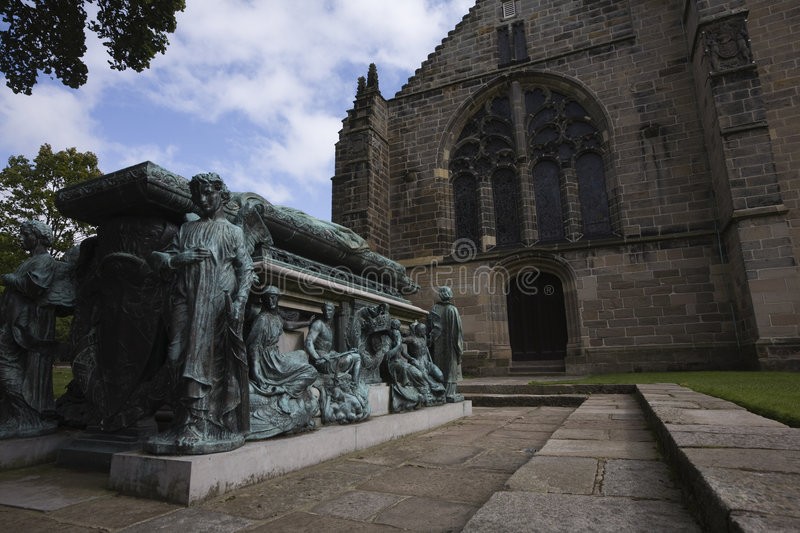 Download Archbishop Tomb At King's College In Aberdeen Stock Photo - Image: 7127160