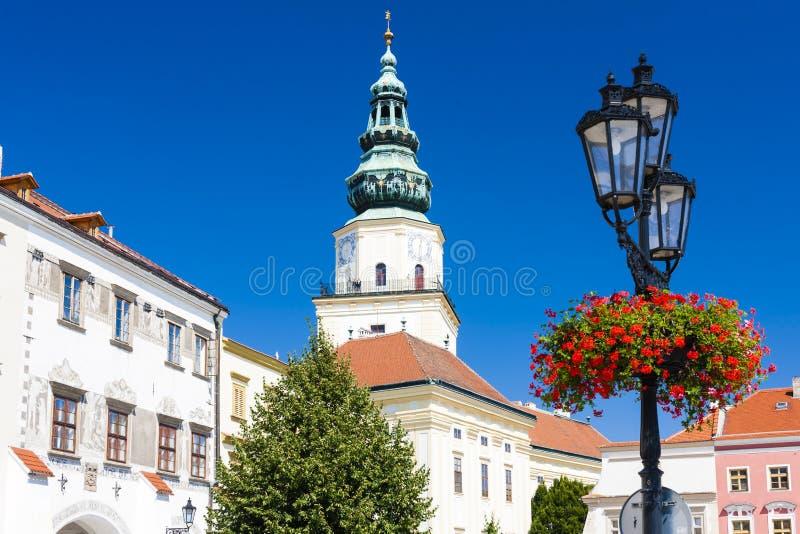 Archbishop& x27; u. x27; s-Palast, Kromeriz, Tschechische Republik lizenzfreie stockbilder