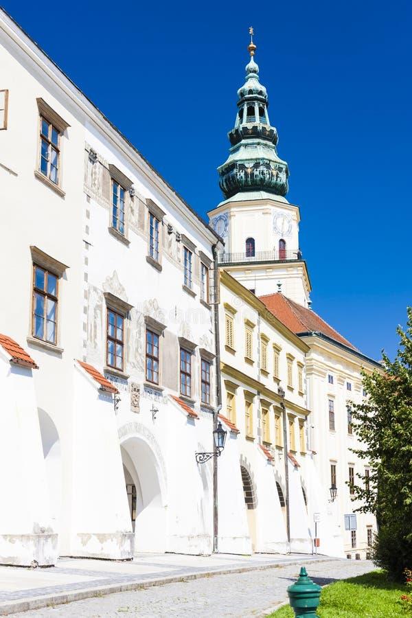 Archbishop& x27; u. x27; s-Palast, Kromeriz, Tschechische Republik lizenzfreies stockfoto