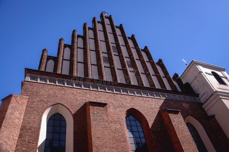 Archcathedral à Varsovie photographie stock