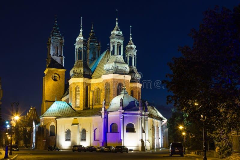 Archcathedral Basilika von St Peter und von St Paul. Poznan. Polen lizenzfreie stockbilder