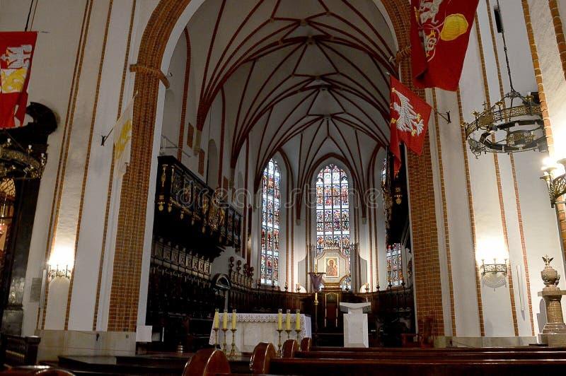 Archcathedral de St John, vieille ville, Varsovie photo libre de droits