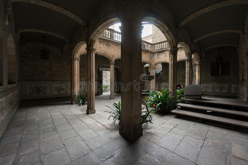 The Archdeacon's House, Barcelona, Spain stock photo