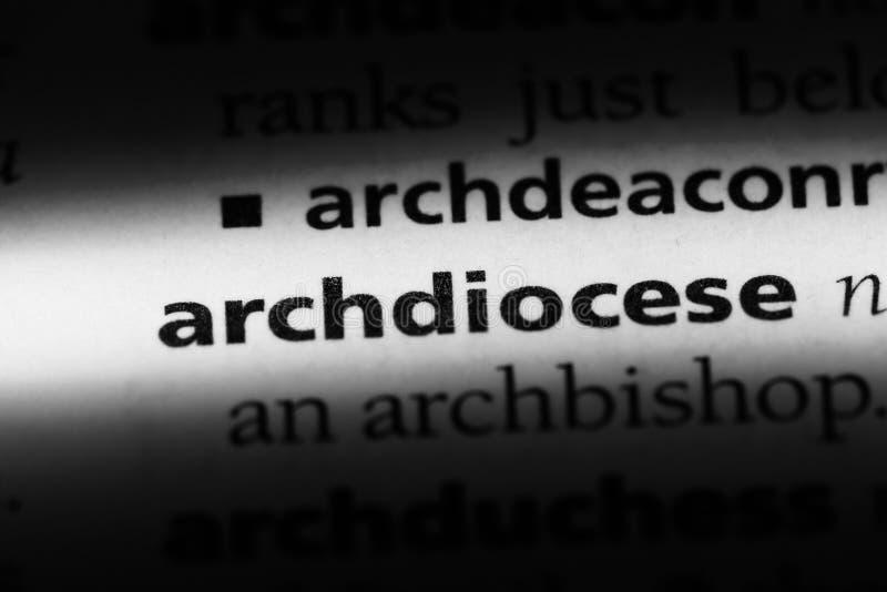 archdiocese fotografia stock