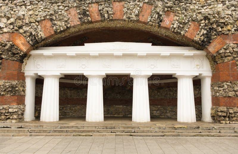 Arche in Alexander-Garten stockbild