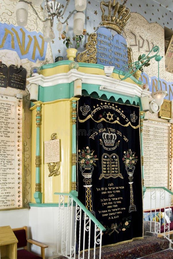 Arche de Torah photographie stock libre de droits