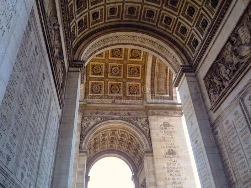 Arche de triumf royaltyfri bild
