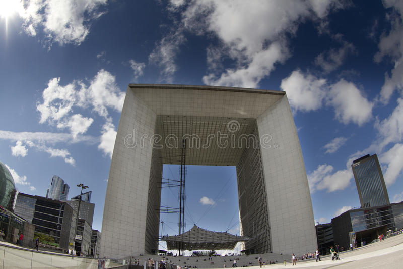 Arche grand de La, la défense de La photos libres de droits