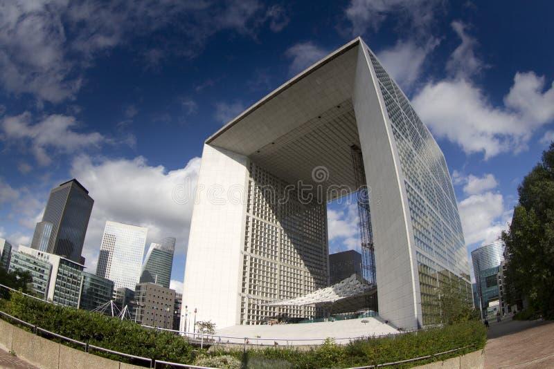 Arche grand de La, la défense de La image libre de droits