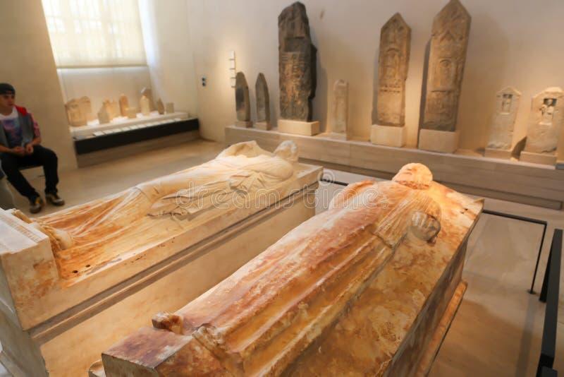 Arche - museo del Louvre immagini stock
