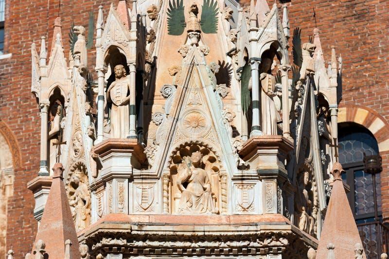 Arche Scaligere de Cansignorio - Verona Italy imagen de archivo libre de regalías