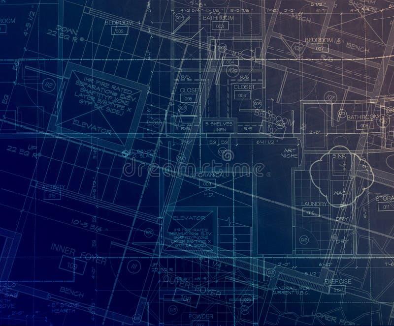 Archecture prévoit l'abstrait illustration de vecteur