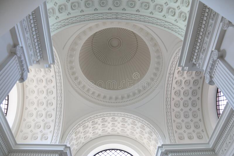 Arched Ceiling In Church Free Public Domain Cc0 Image