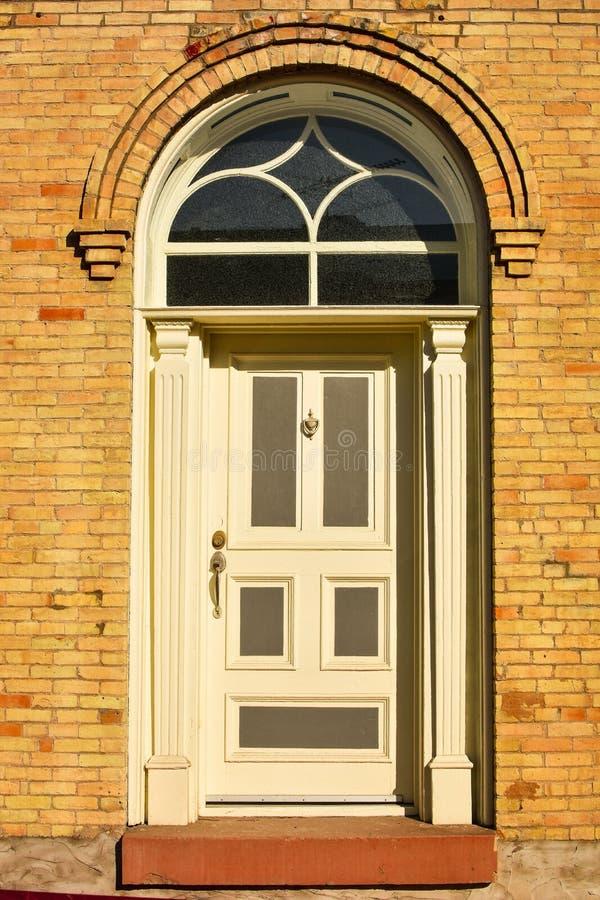 Arched Door stock image. Image of frame, doorknocker - 102185239