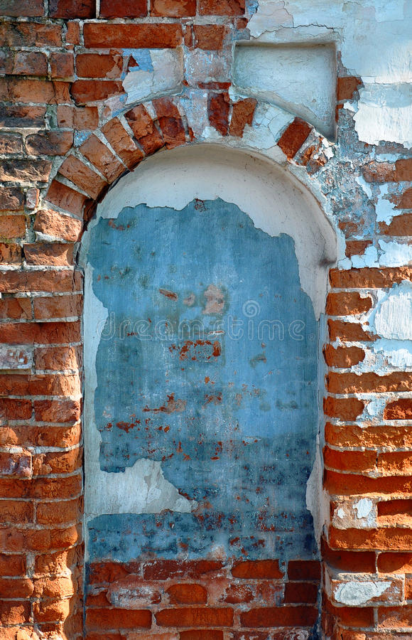 Arched window royalty free stock photography