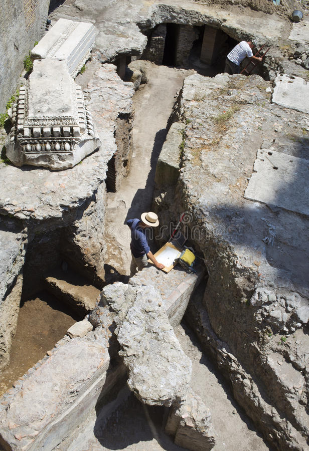 Archeologi immagini stock