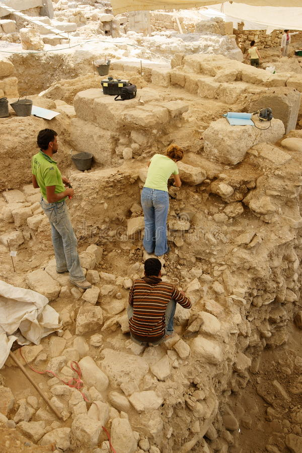Archeologia urbana fotografie stock libere da diritti