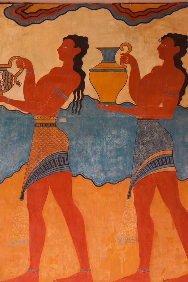 archeological περιοχή knossos στοκ εικόνες με δικαίωμα ελεύθερης χρήσης