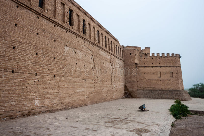 Archeological castle in Susa. (Sush), Iran stock photo