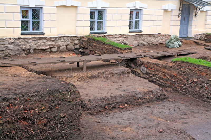 Download Archeological Excavations Royalty Free Stock Photo - Image: 26779015
