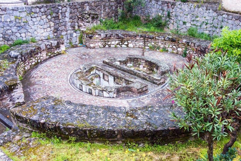 Archeological miejsce, Amfissa, Grecja fotografia royalty free