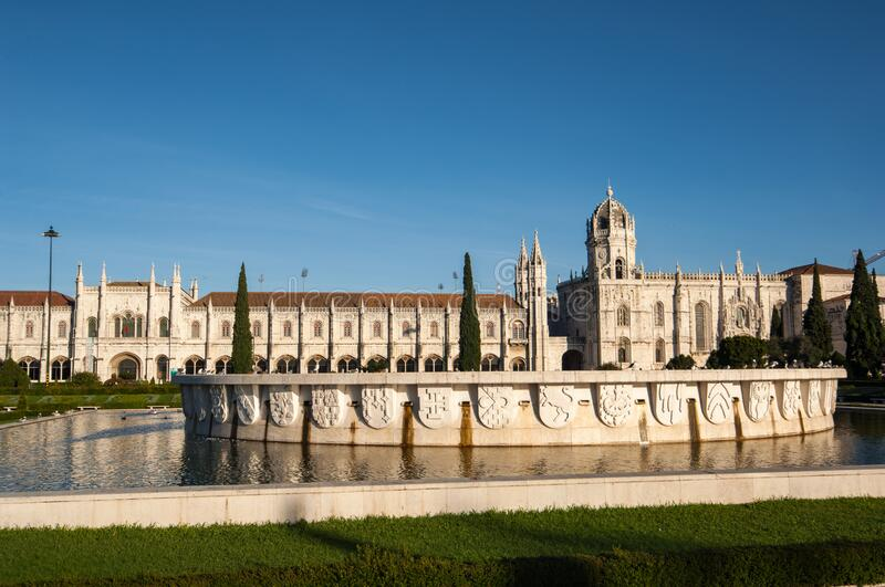 Archeological Museum in Belem Lisbon royalty free stock photos